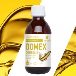 OOmex OOMEGA 3 APELSINIMAITSELINE 300ml
