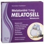 Melatosell Unetabletid 1mg  N60