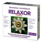 Relaxor Forte Kannatuslille Ekstrakti Tab N40