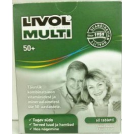 Livol Multi Total 50+ Tbl N60