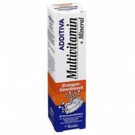 Additiva Multivitamin+mineral Kihisev Tbl Apelsin N20