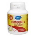 Lysi Omega-3 + D3-vit Caps N120