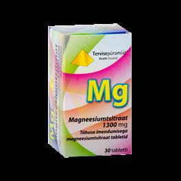 TERVISEPÜRAMIID MAGNEESIUMTSITRAAT 1300MG tabletid N30
