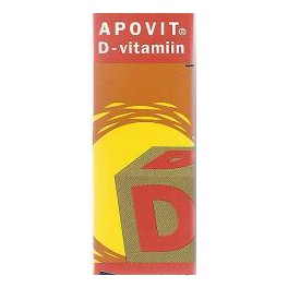 Apovit D-vitamiin suukaudsed tilgad 10ml