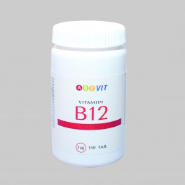 352452ef364 VITAMIIN B12 ABC VIT TBL 3MCG N150 - Tervis N1