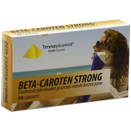 BETA-CAROTEN STRONG N30 TERVISEPÜRAMIID